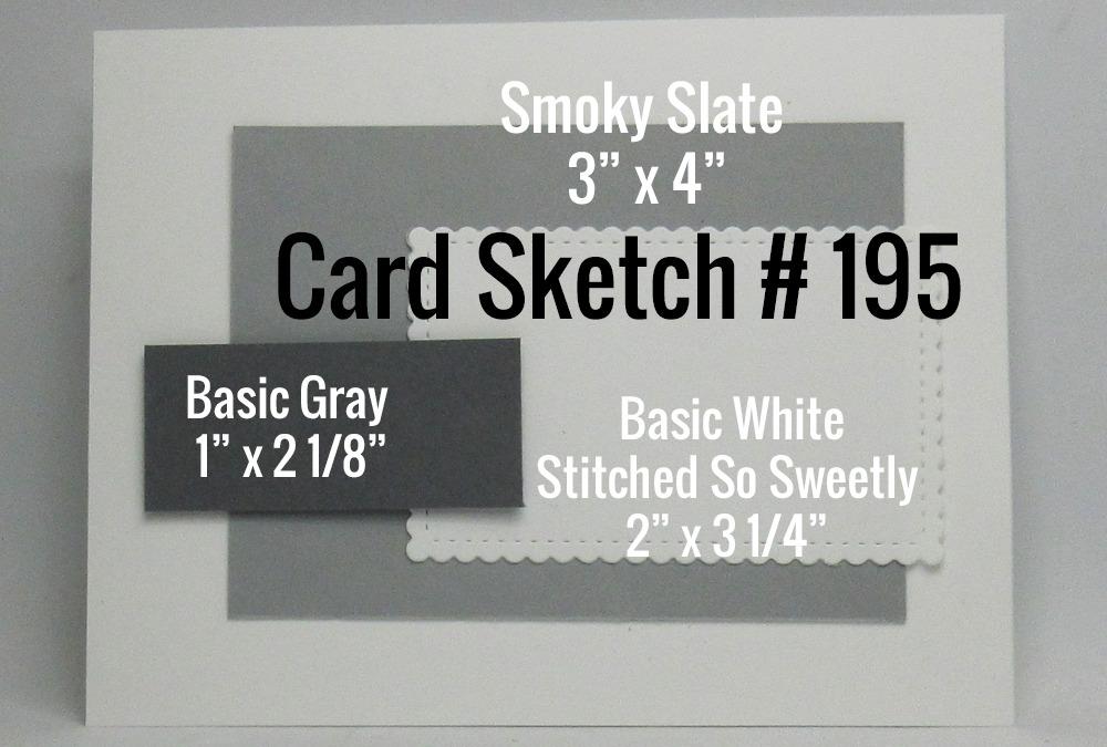 Card Sketch # 195