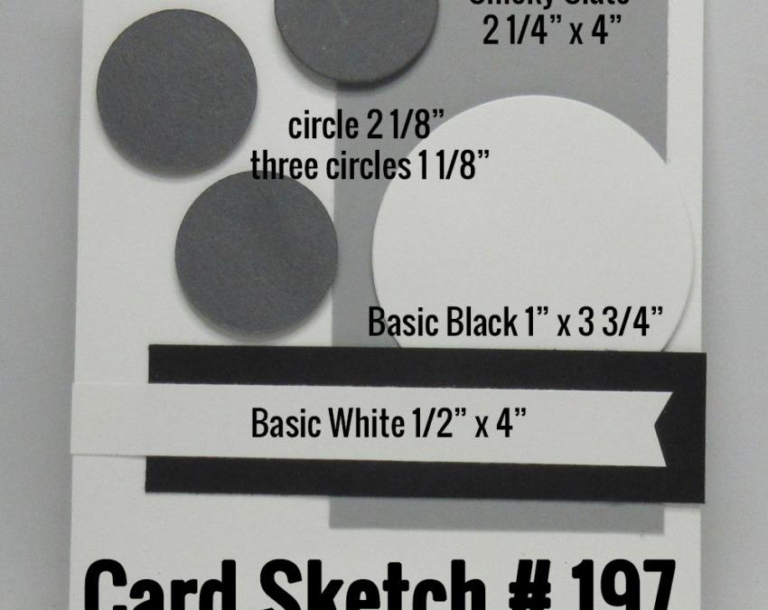 Card sketch # 197