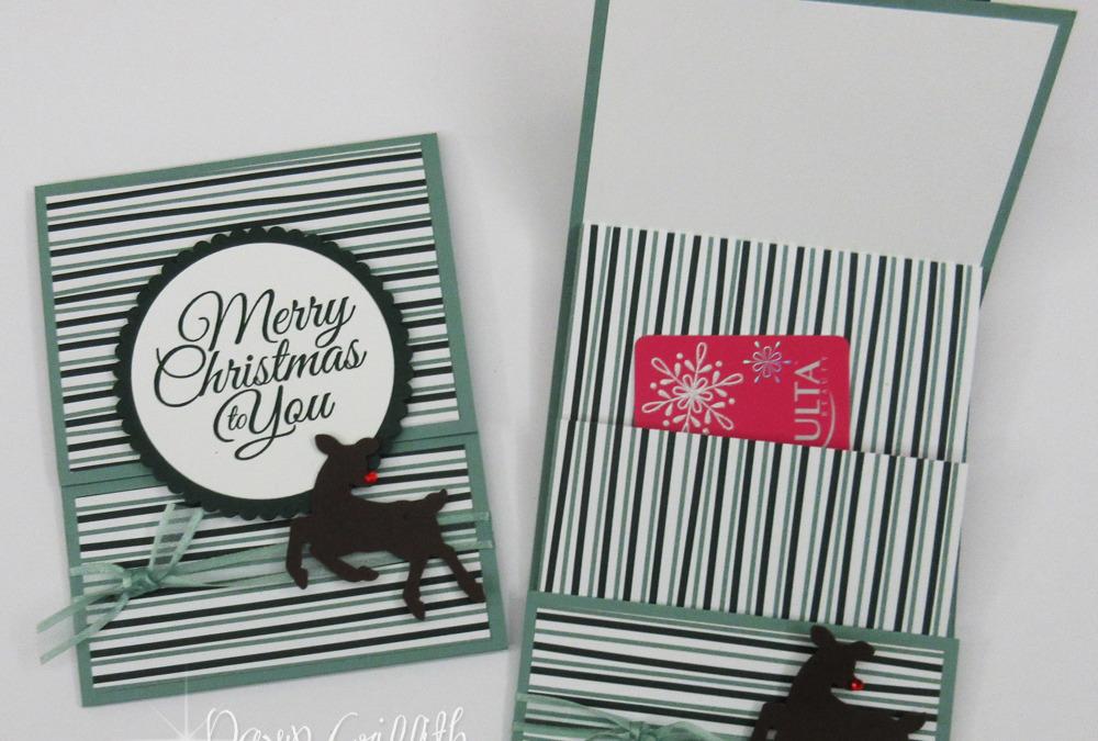 Two for Thursday ~ Slider Pocket Gift Card Holder videos