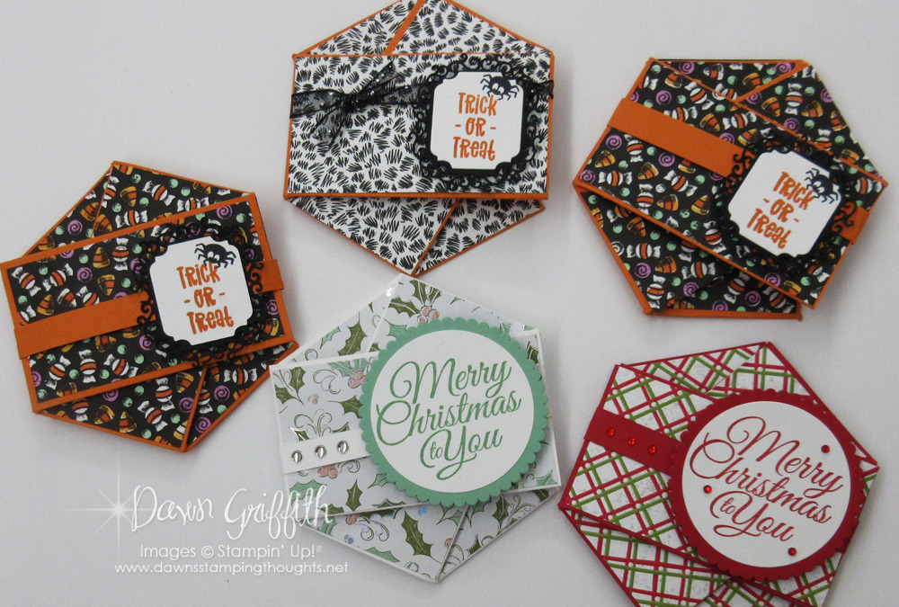 Two for Thursday ~ Triple Pocket Twist Card Videos